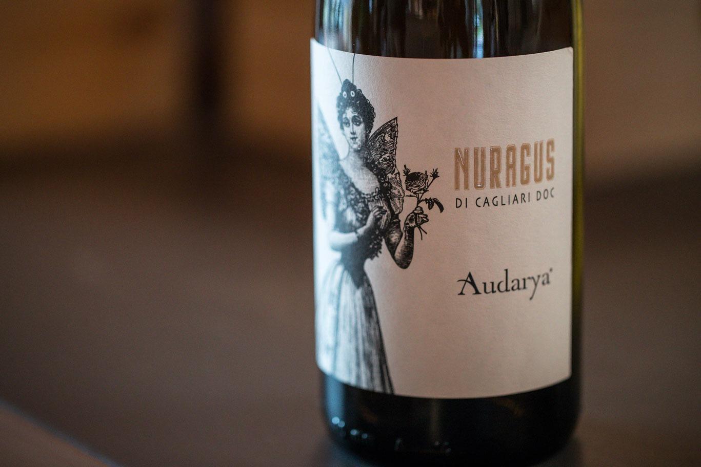 nuragus di Cagliari doc Audarya vino bianco autoctono