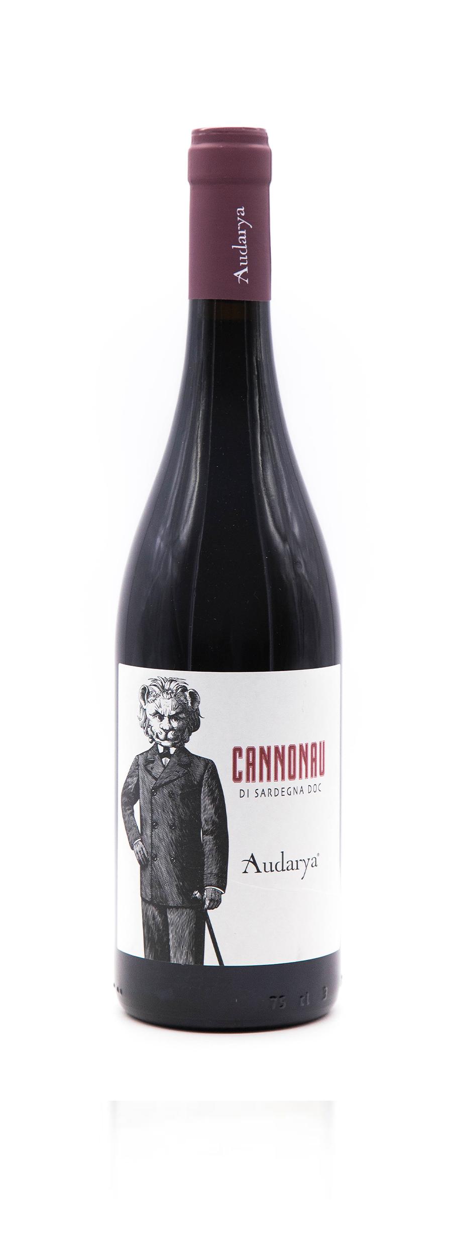 cannonau Sardegna doc audarya vino rosso
